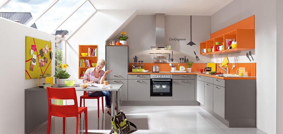 L Form Küche Mit Theke