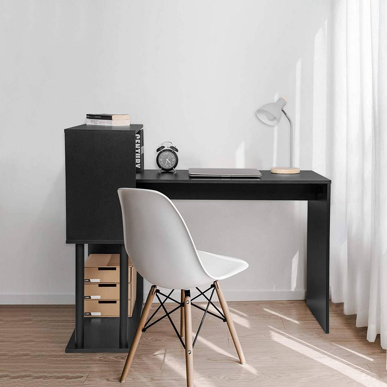 L Schreibtisch Schwarz