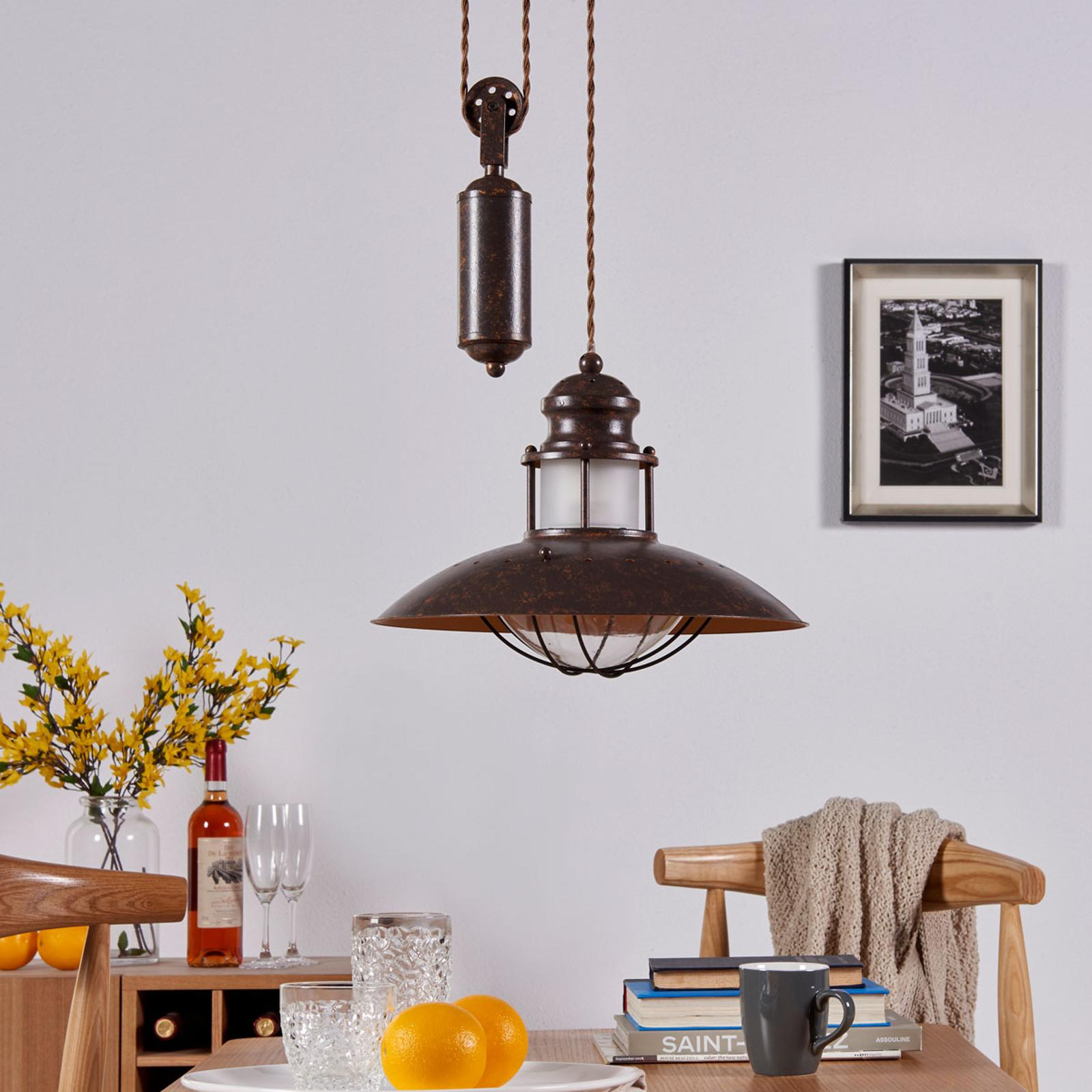 Lampe Aufhängen Affenschaukel