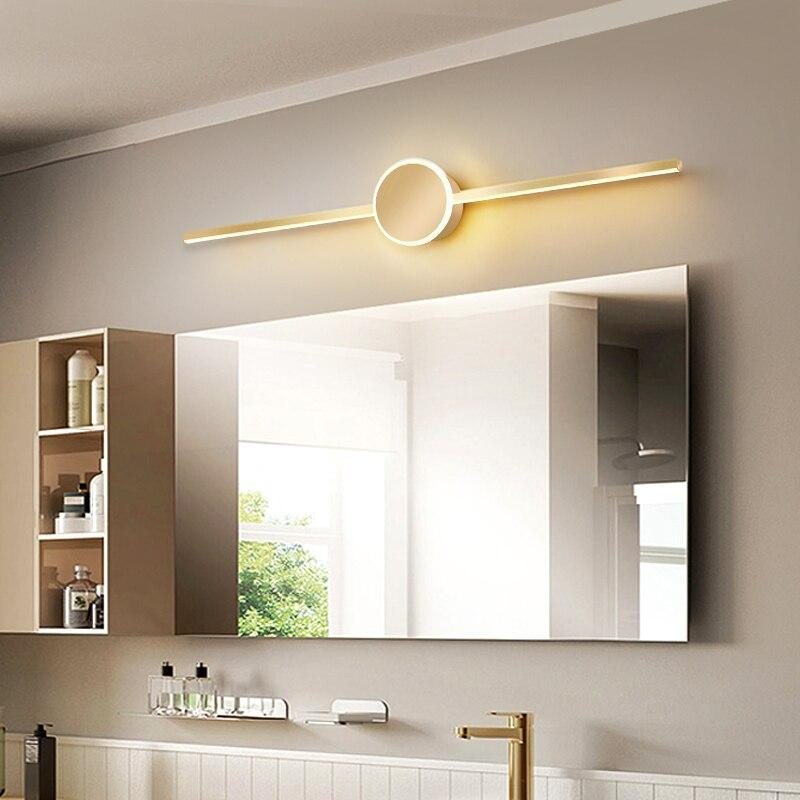 Lampe Bad über Spiegel