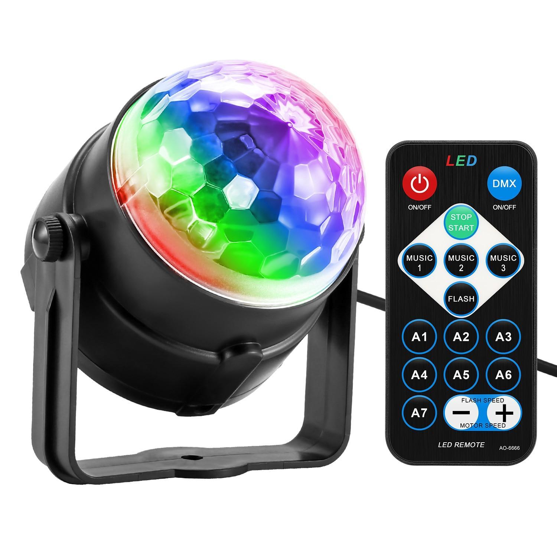 Lampe Disco 3 Spots