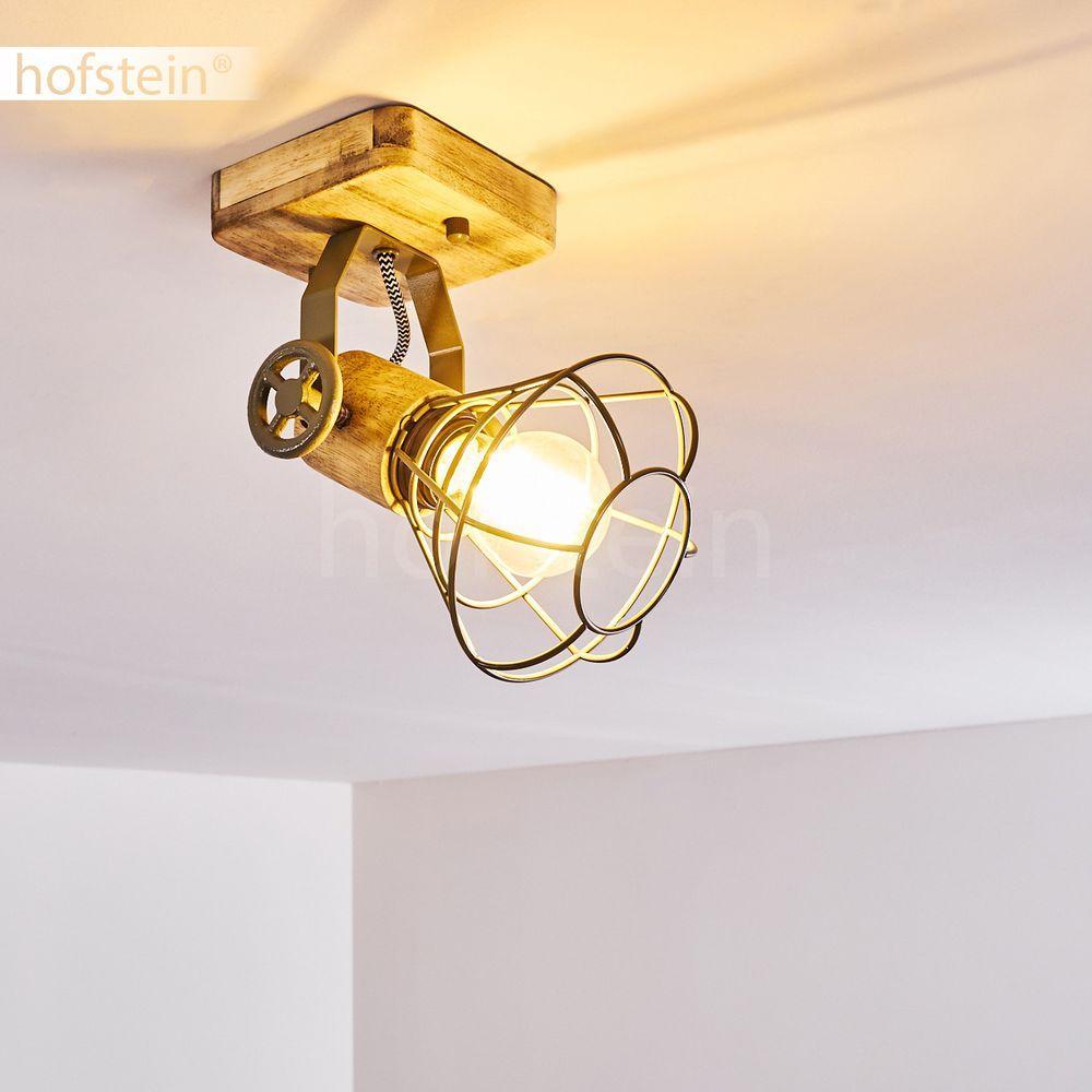 Lampe Flur Holz
