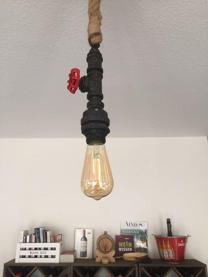 Lampe Glühbirne Seil
