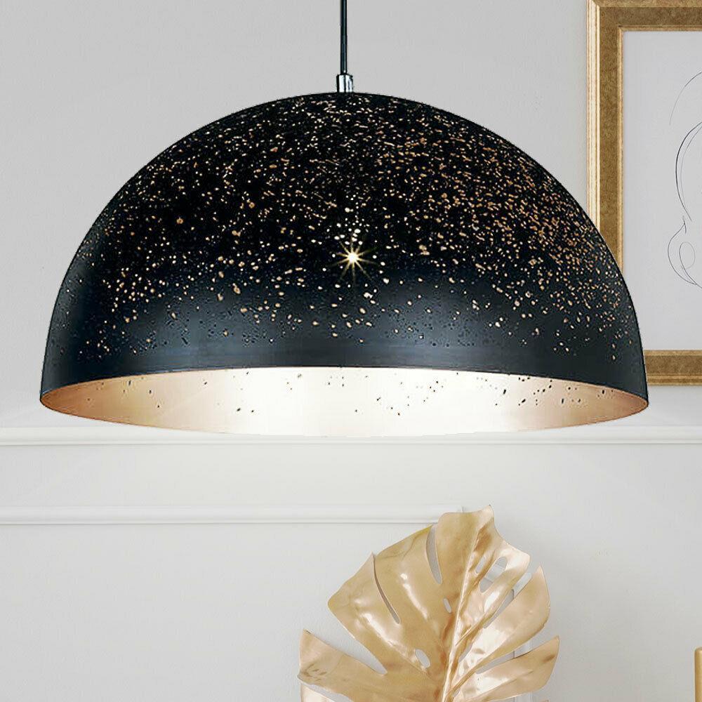 Lampe Gold Schwarz