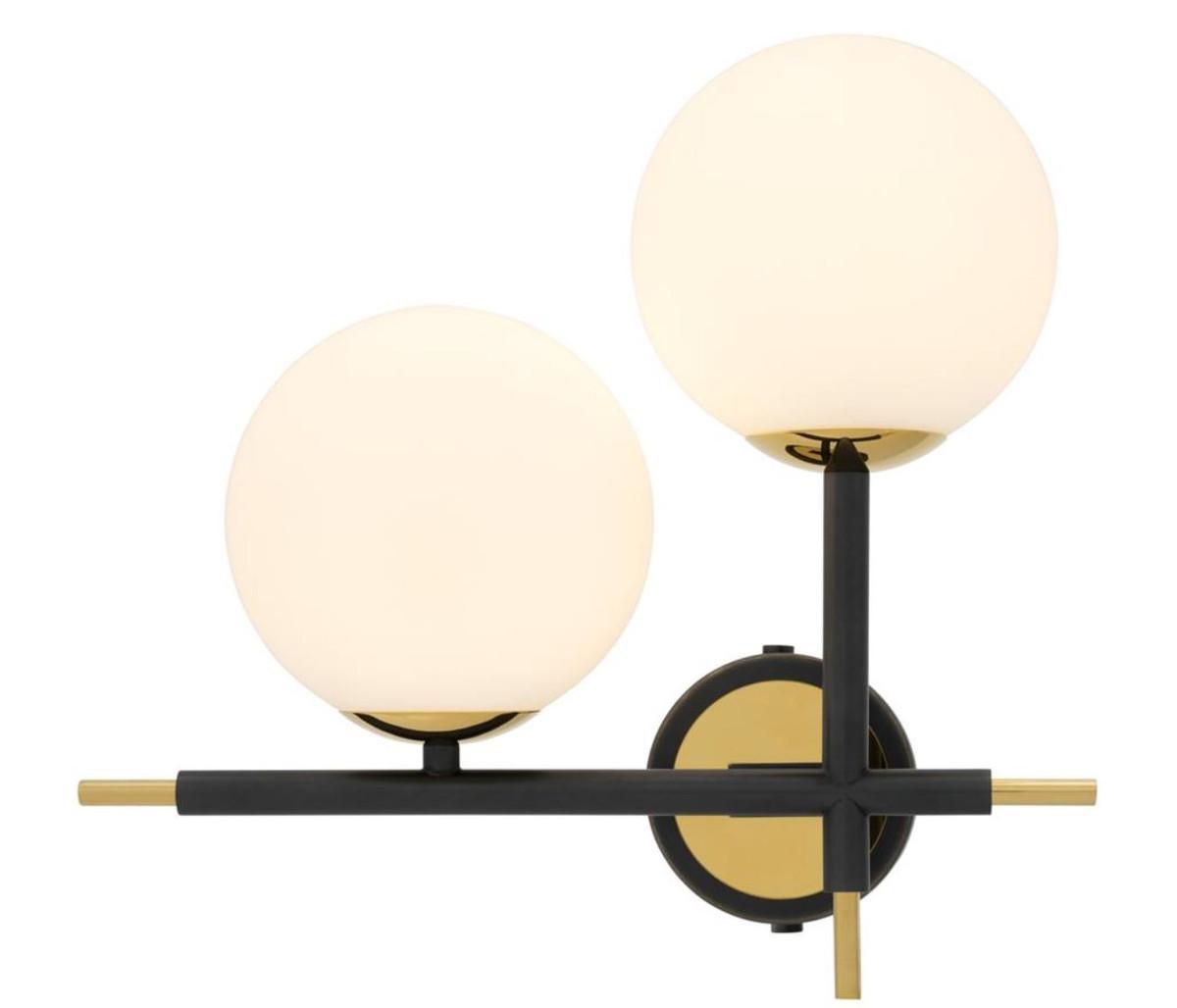 Lampe Gold Weiß