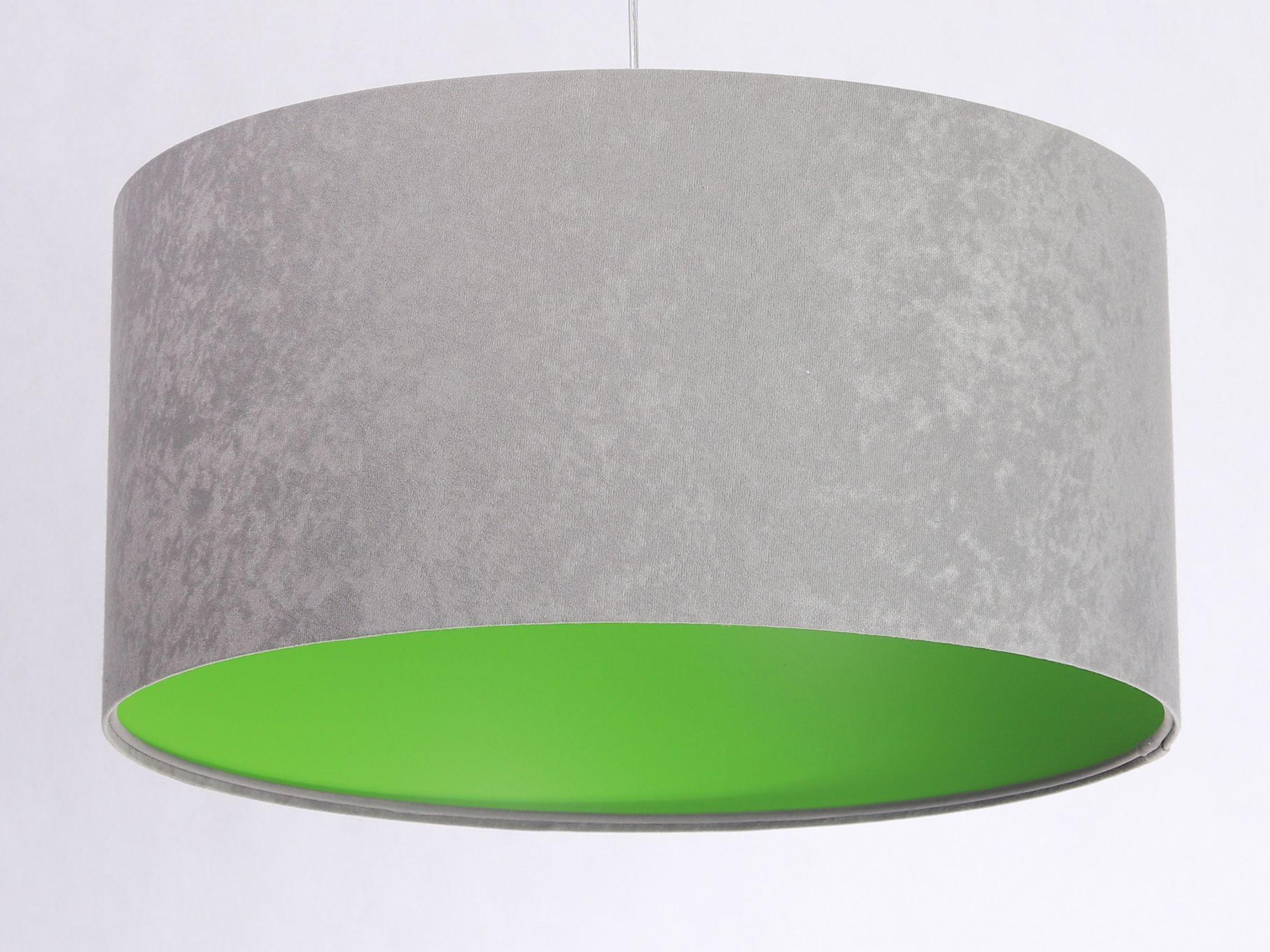 Lampe Grau Grün