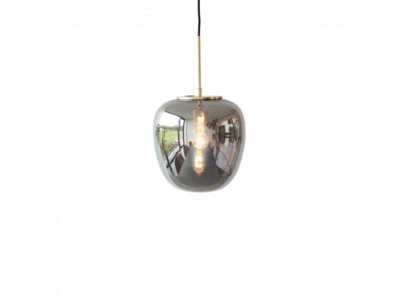 Lampe Graues Glas