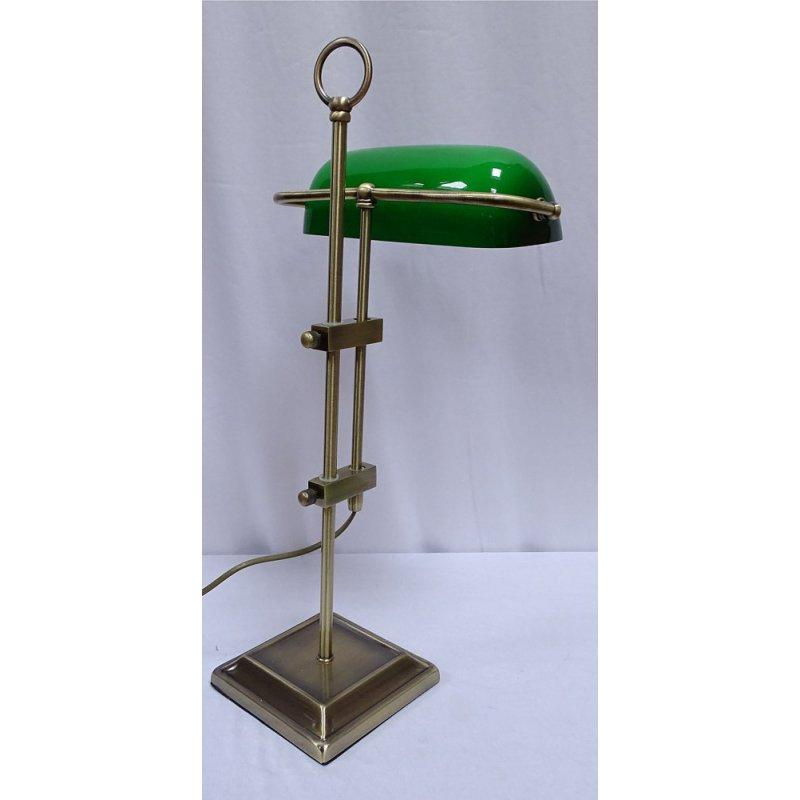 Lampe Grüner Schirm
