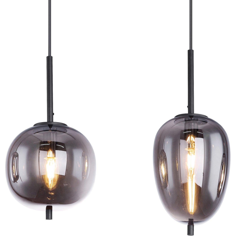 Lampe Hängend Schwarz Metall