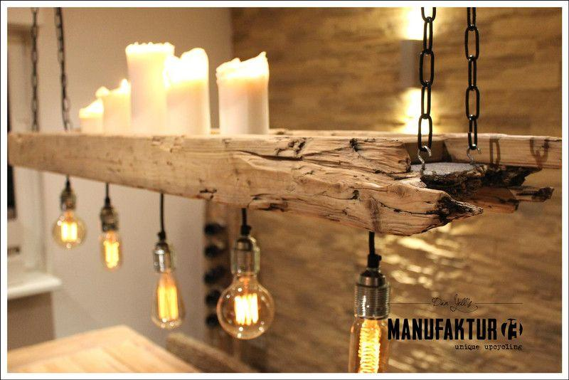 Lampe Holz Schwarz