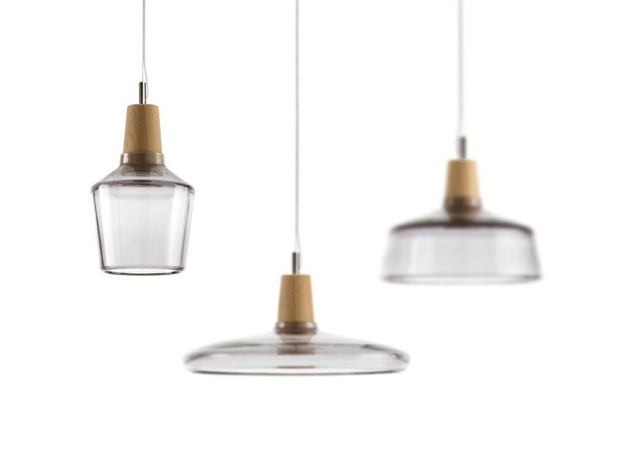 Lampe Industrial Holz