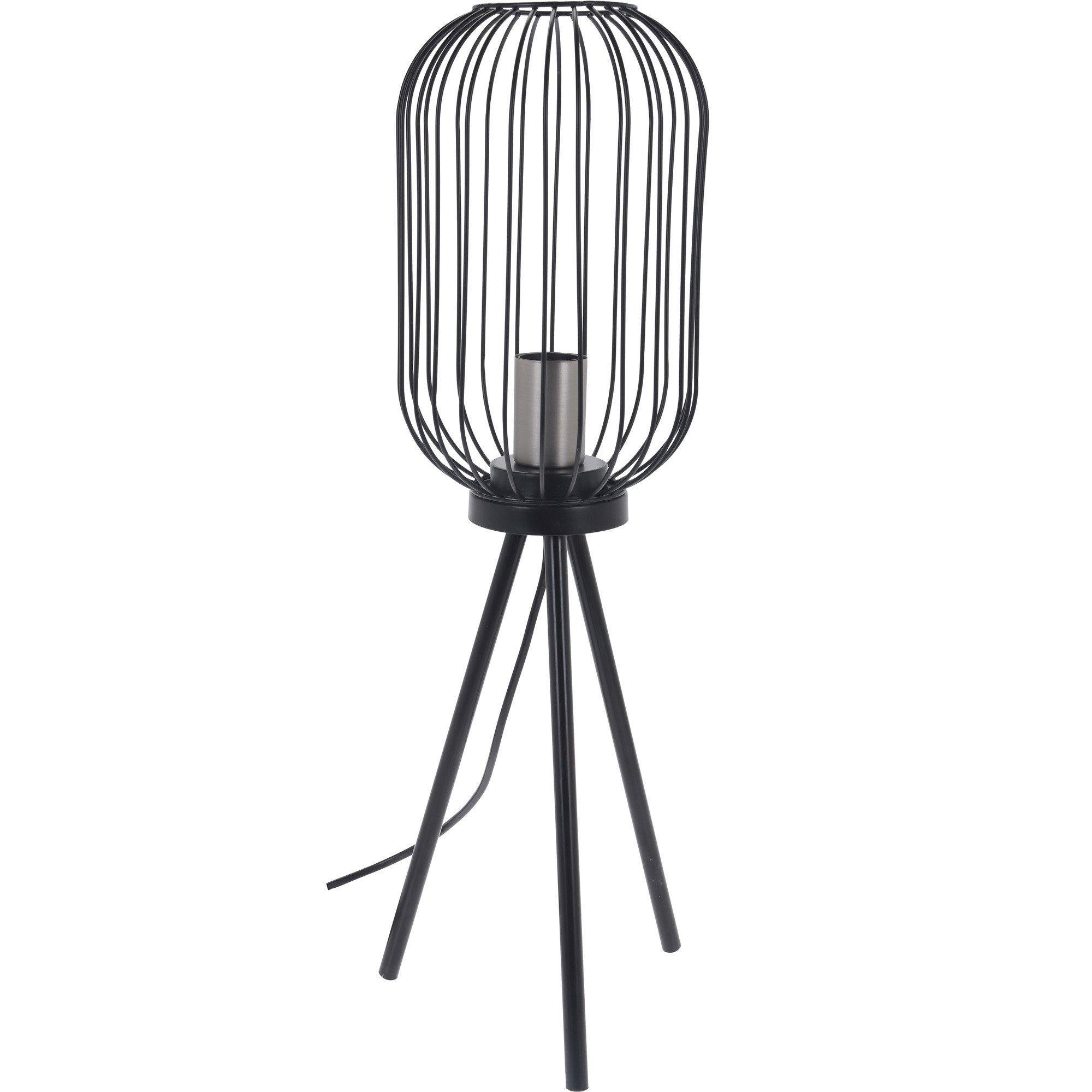 Lampe Metall Schwarz