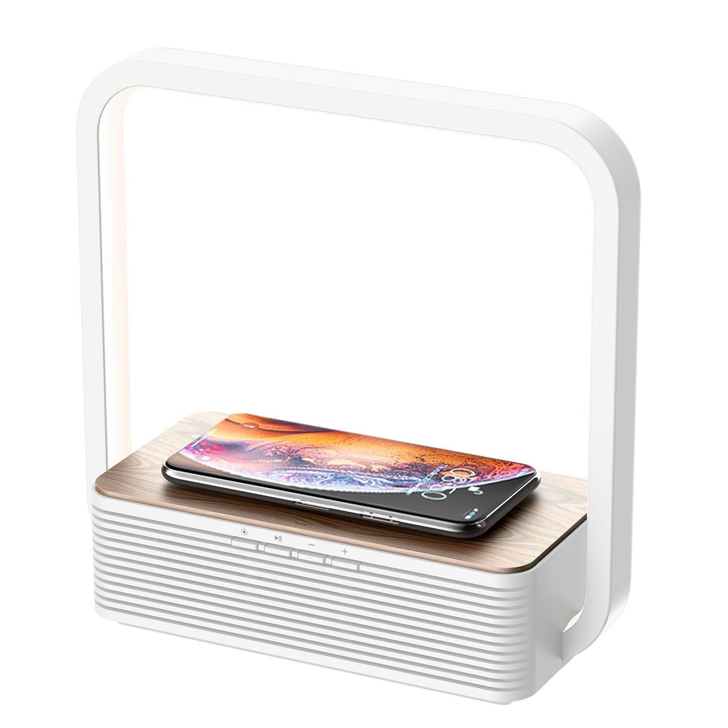 Lampe Mit Bluetooth Box