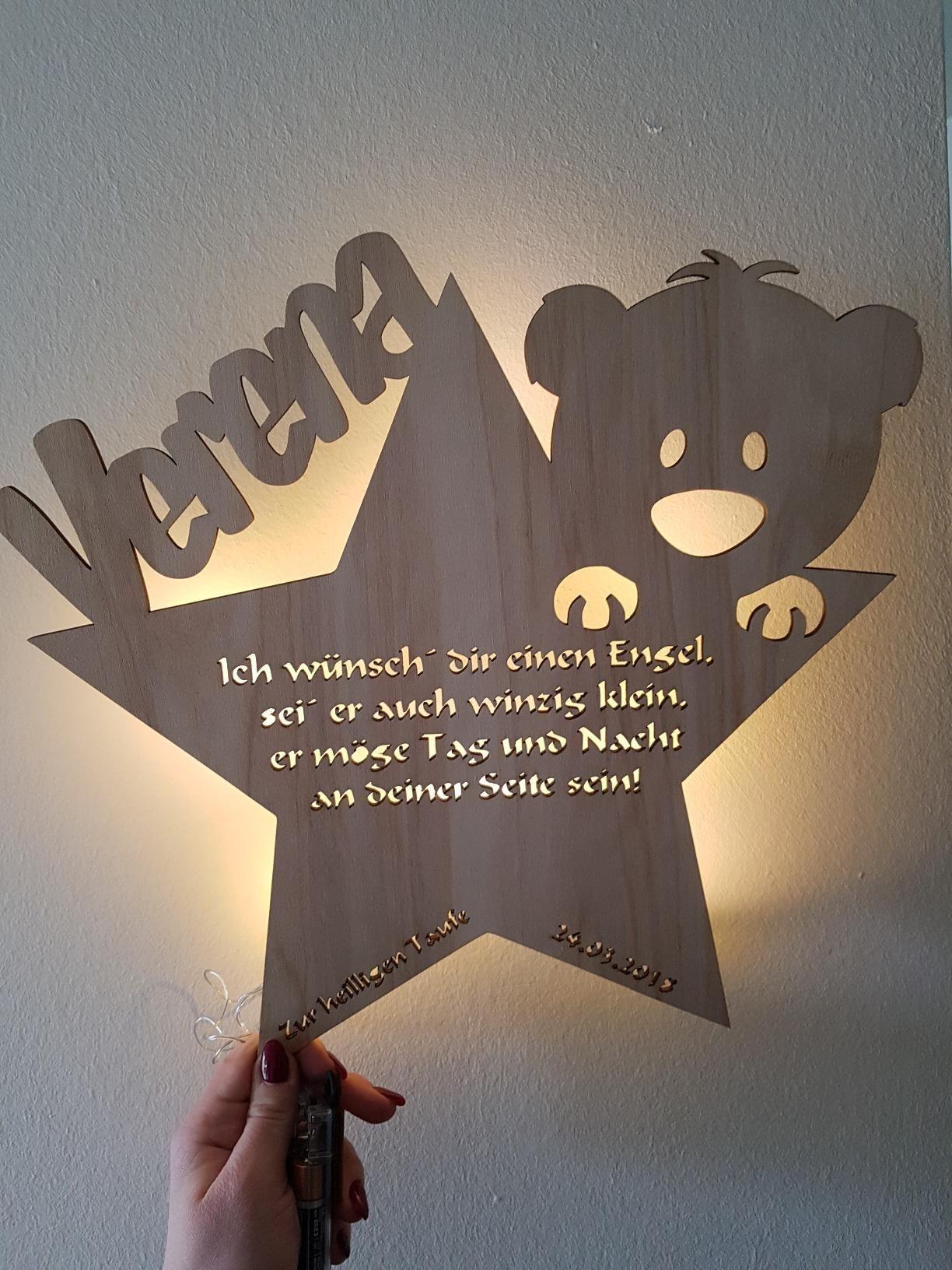 Lampe Mit Namen Baby