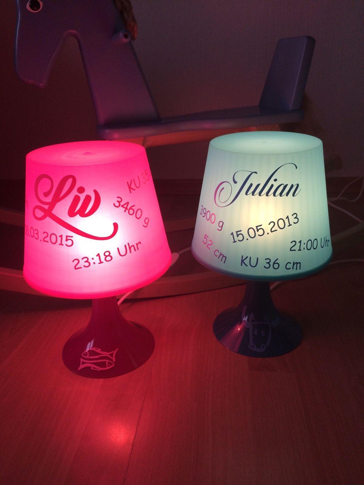 Lampe Mit Persönlichen Fotos