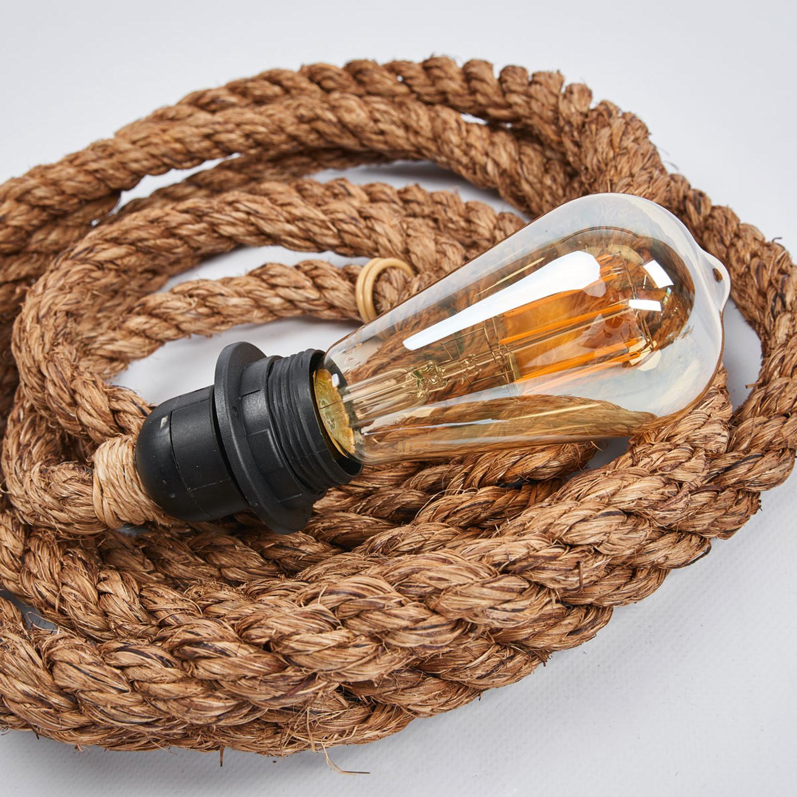 Lampe Mit Seil Und Stecker