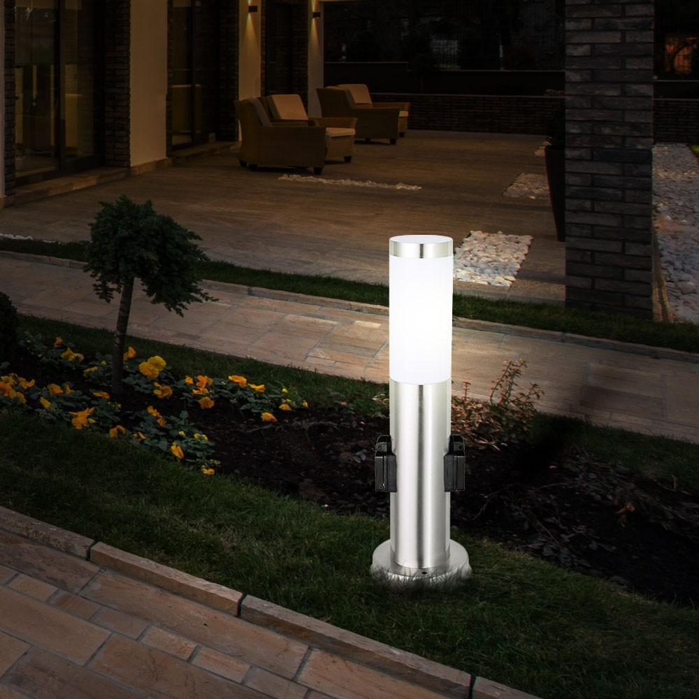 Lampe Mit Steckdose Außen