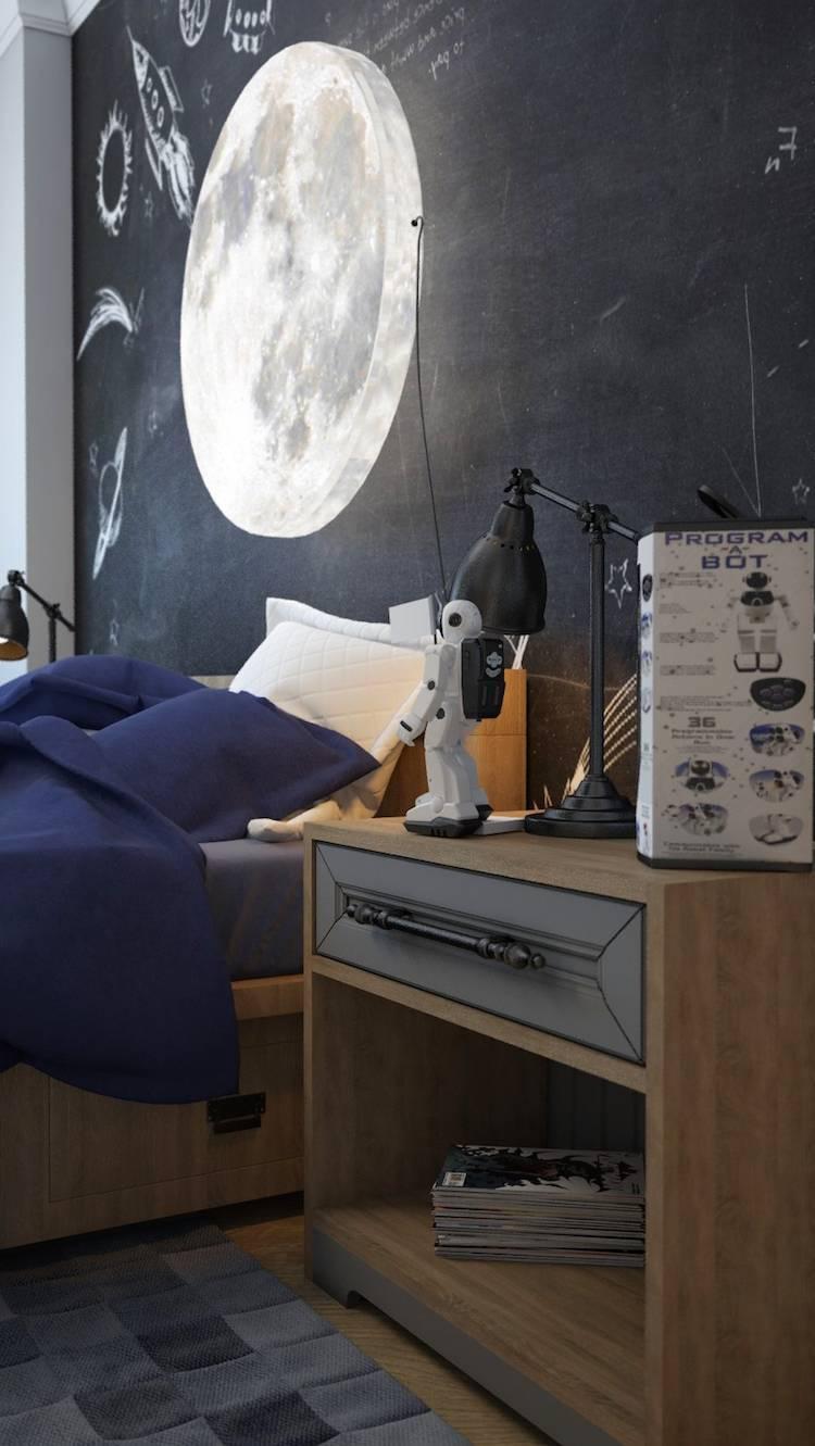 Lampe Mond Kinderzimmer