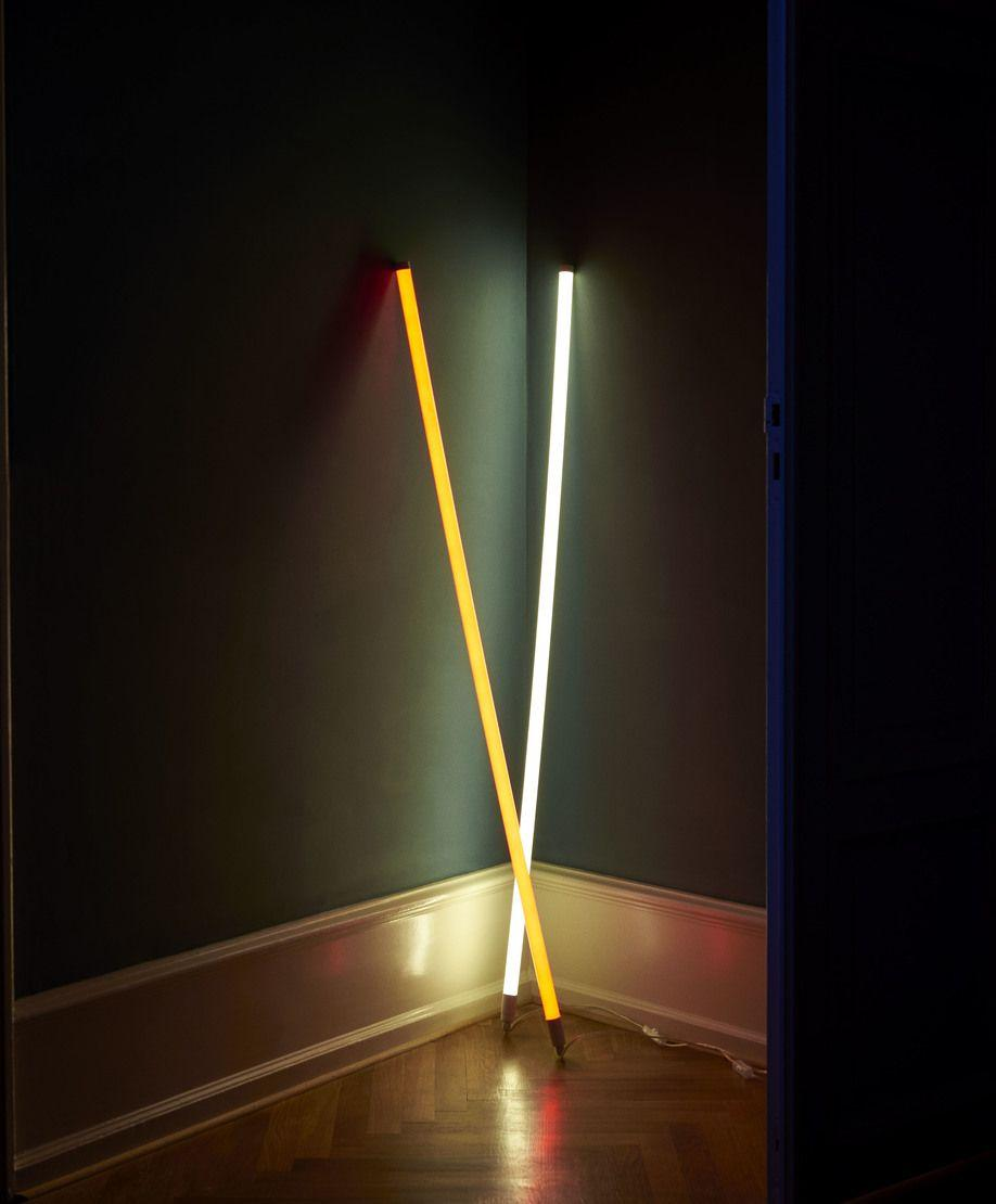 Lampe Neonröhre Design