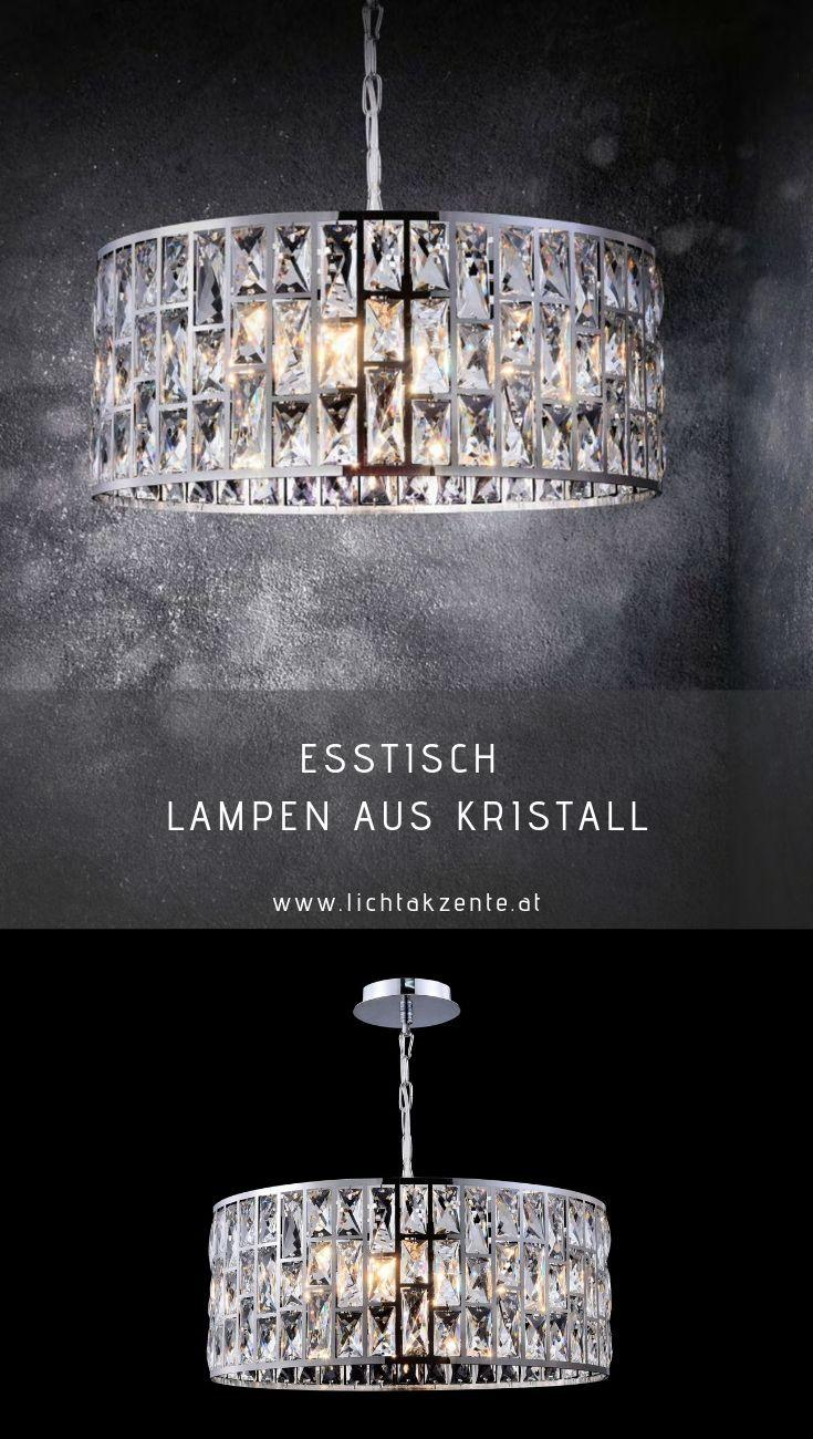 Lampe Rund Kristall