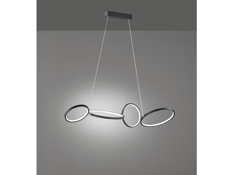 Lampe Schwarz Gold Hängend