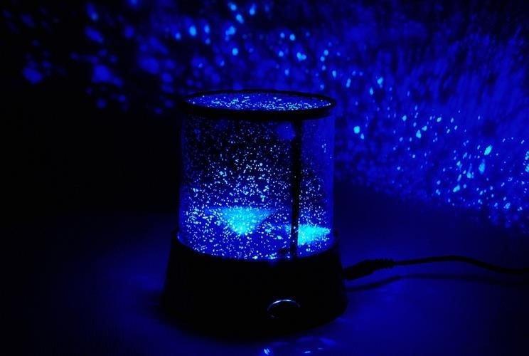 Lampe Sternenhimmel Projektion