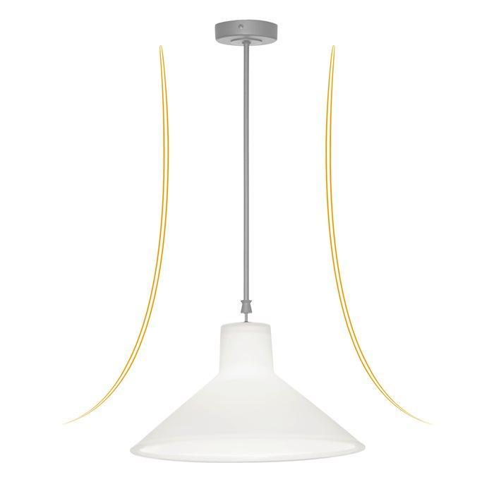 Lampe Weiß Gold