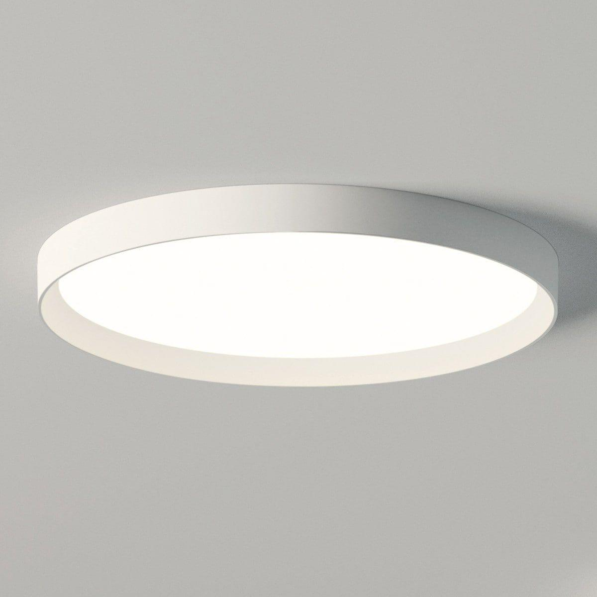 Lampe Weiß Rund