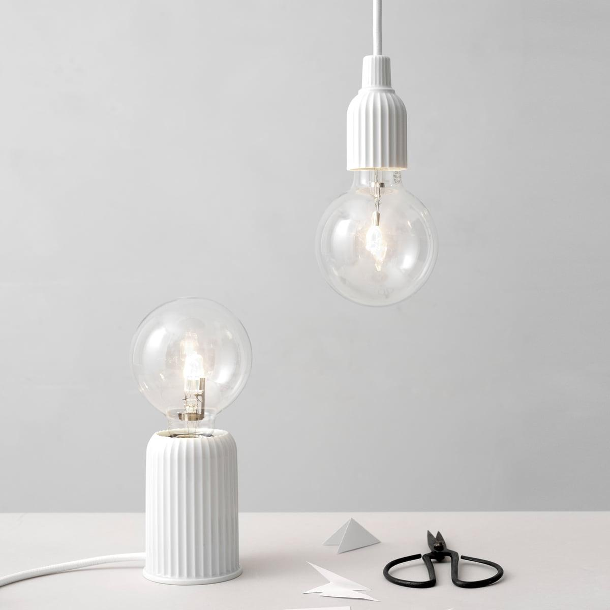 Lampe Weiße Kugel