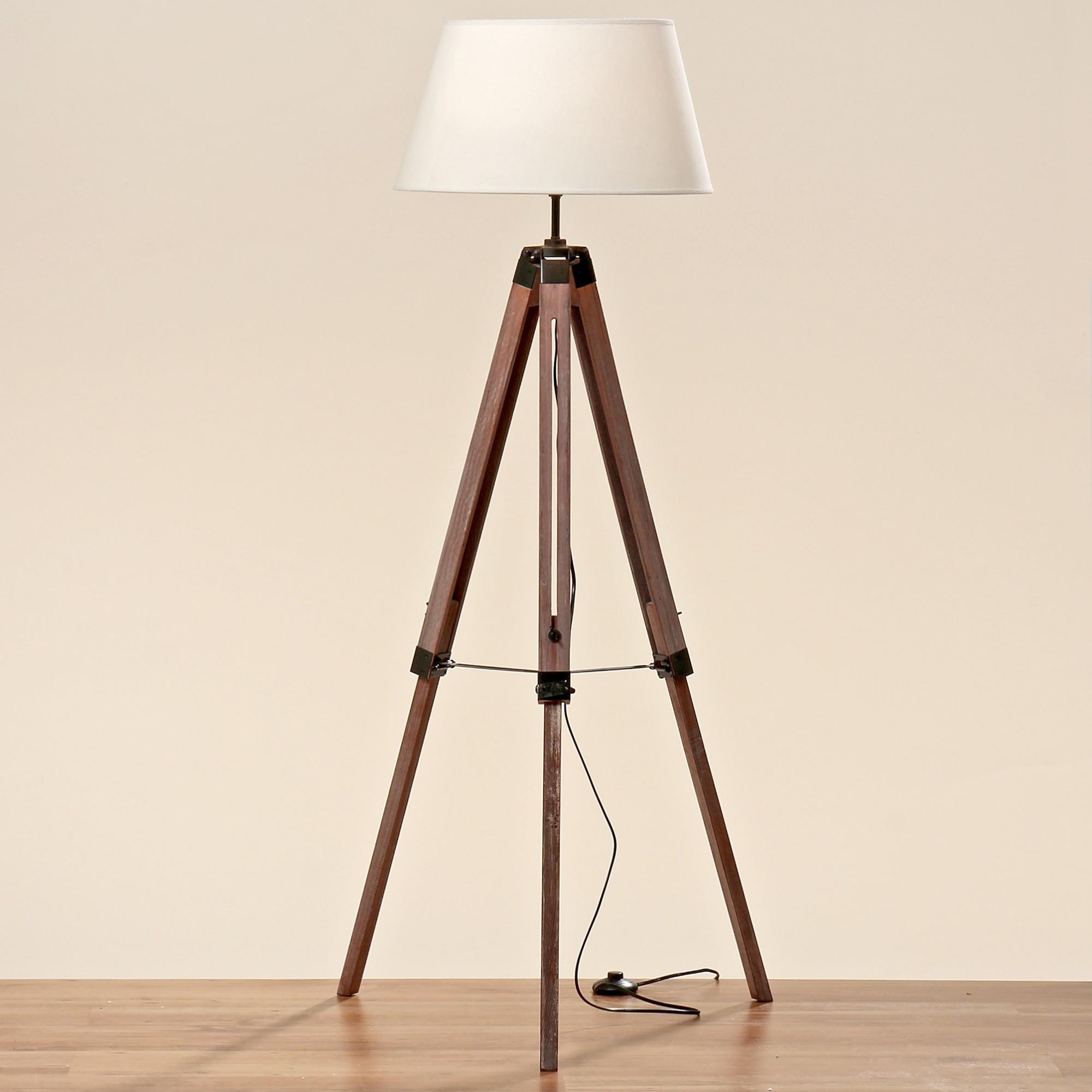 Lampen Mit Holzschirm