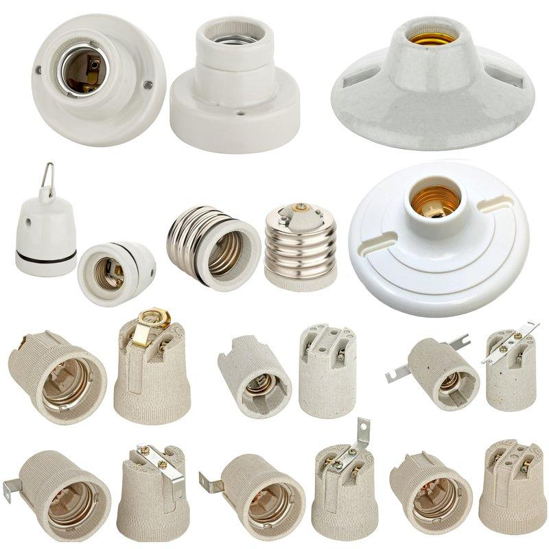 Lampenfassung E27 Keramik
