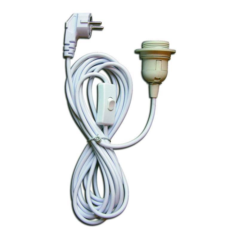 Lampenfassung Mit Kabel Und Schalter
