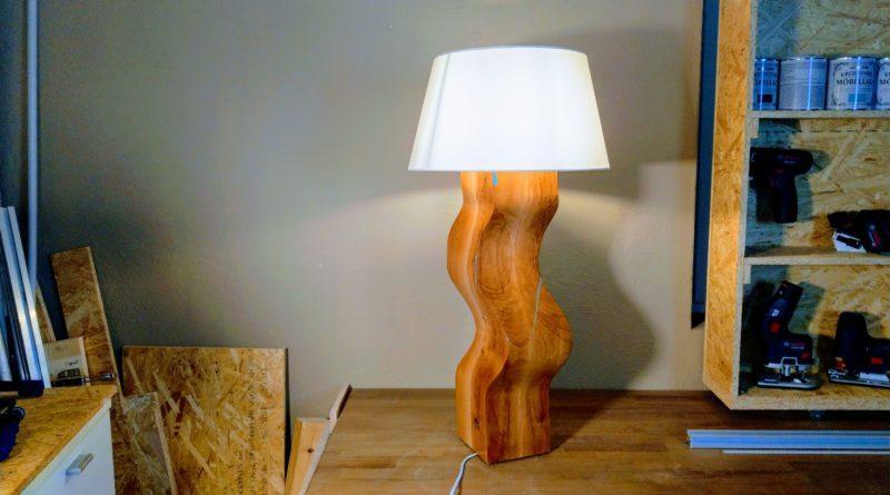 Lampenfuss Aus Holz Selber Bauen