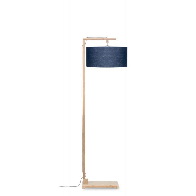 Lampenschirm Bambus Stehlampe