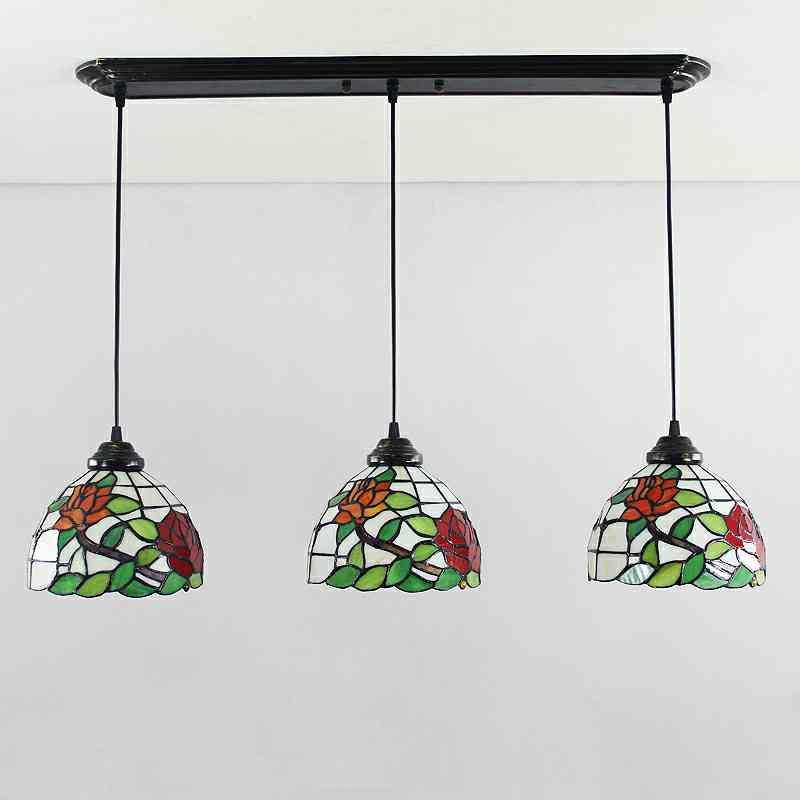 Lampenschirm Glas Antik