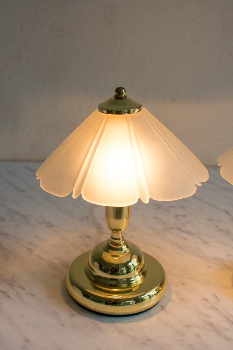 Lampenschirm Glas Blütenform