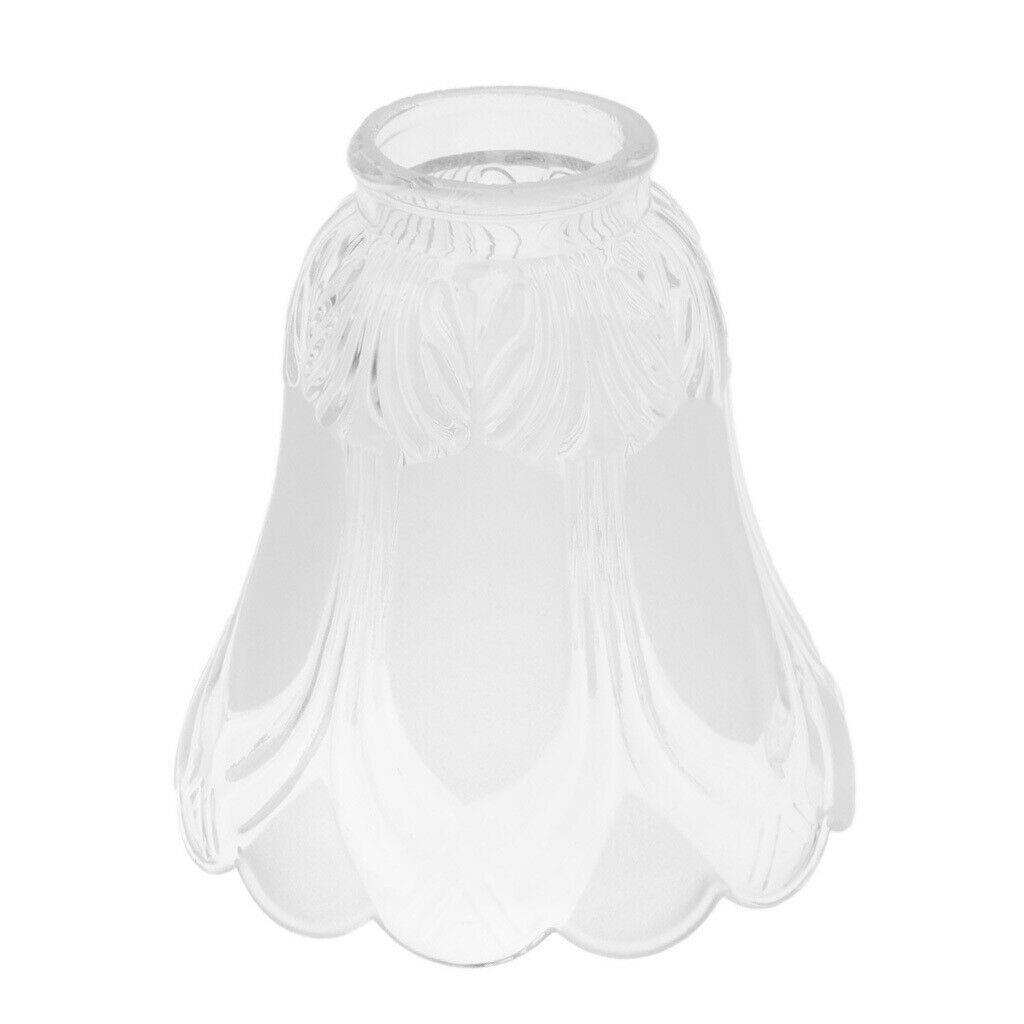 Lampenschirm Glas Tulpenform