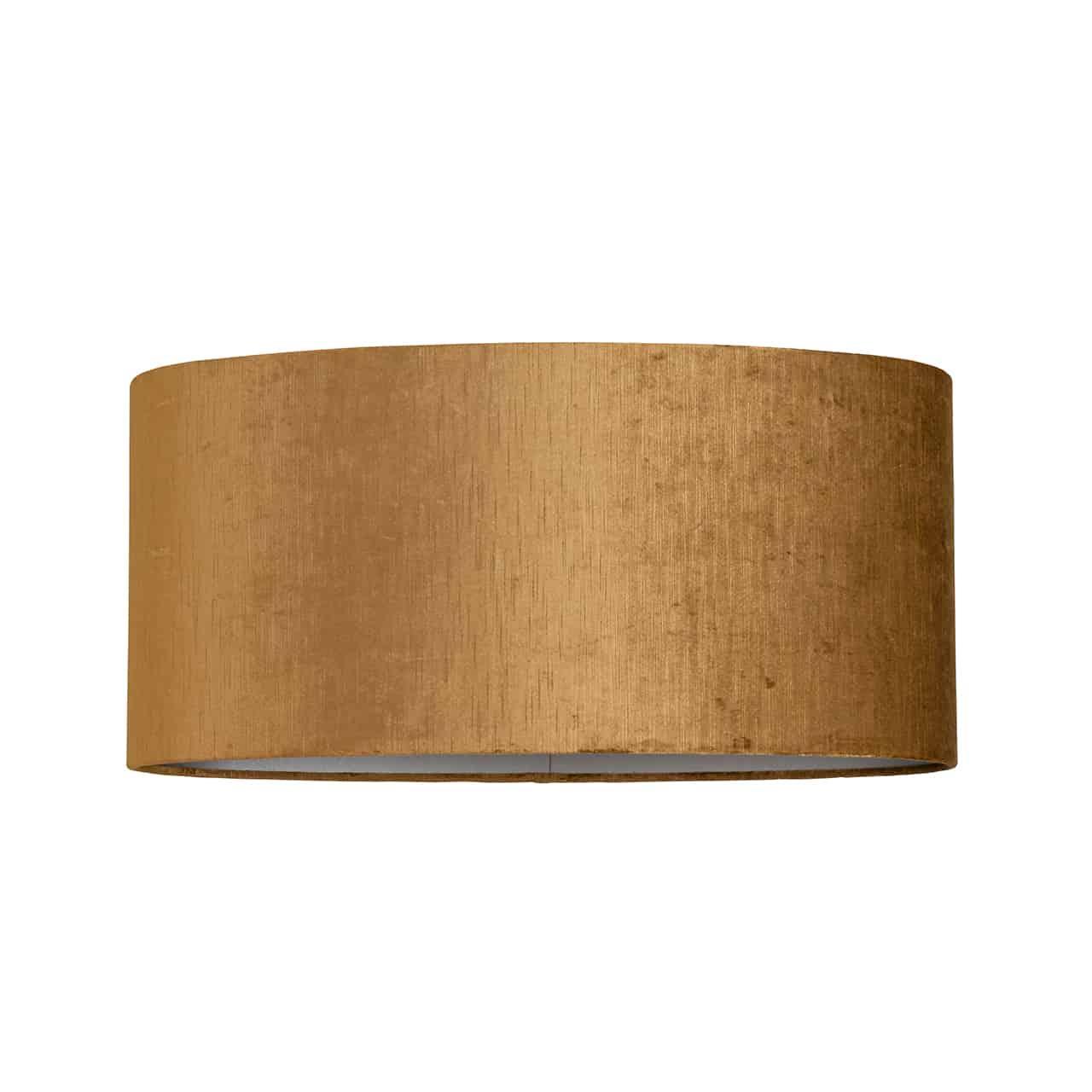 Lampenschirm Grau Gold