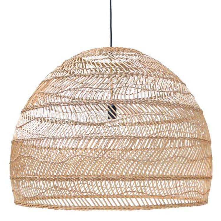 Lampenschirm Holz Geflochten
