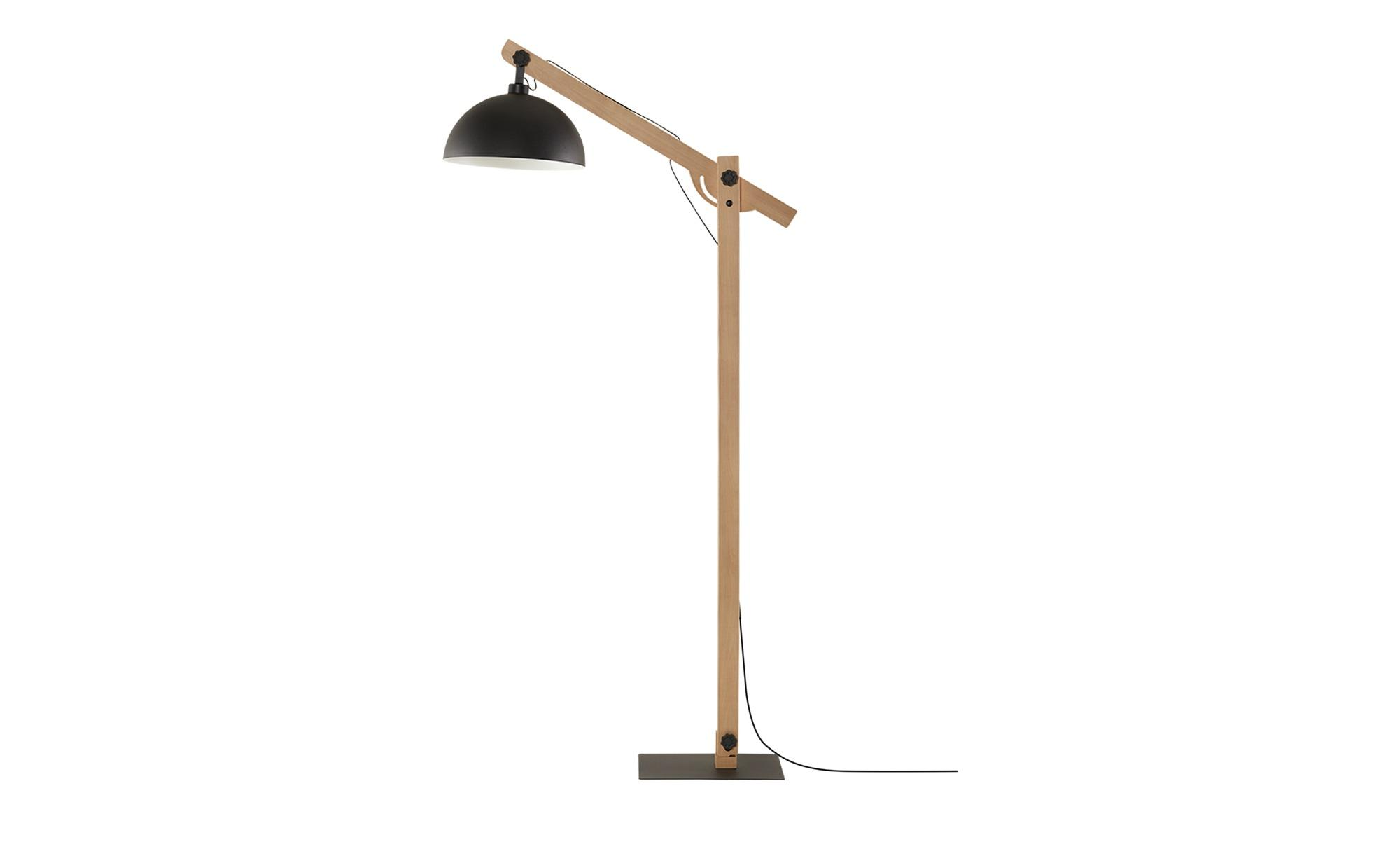 Lampenschirm Holz Stehlampe