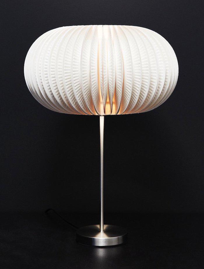 Lampenschirm Korb Stehlampe