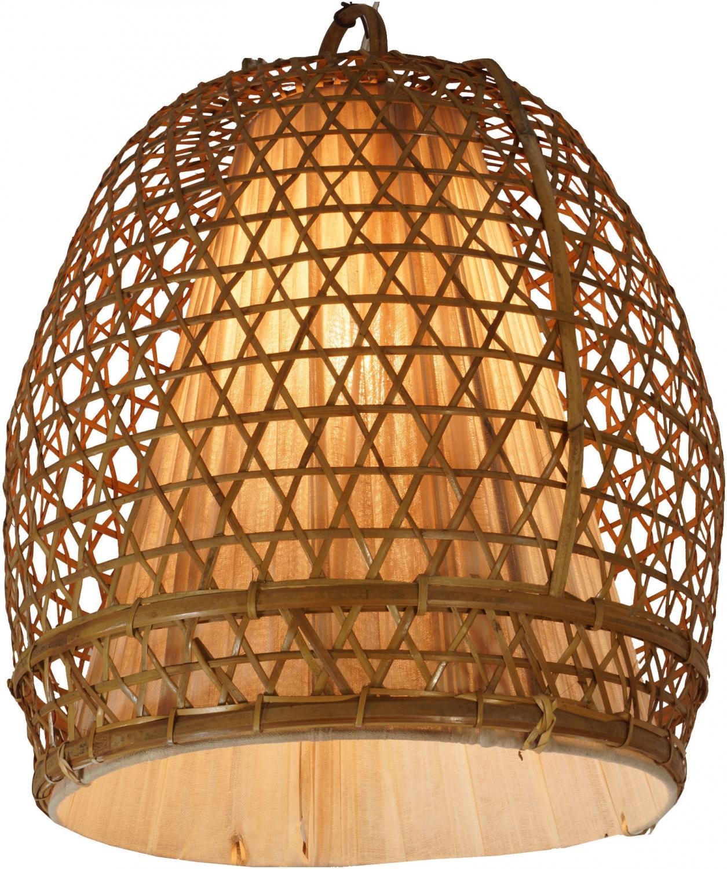 Lampenschirm Rattan Bambus