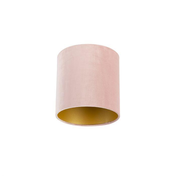 Lampenschirm Rosa Gold