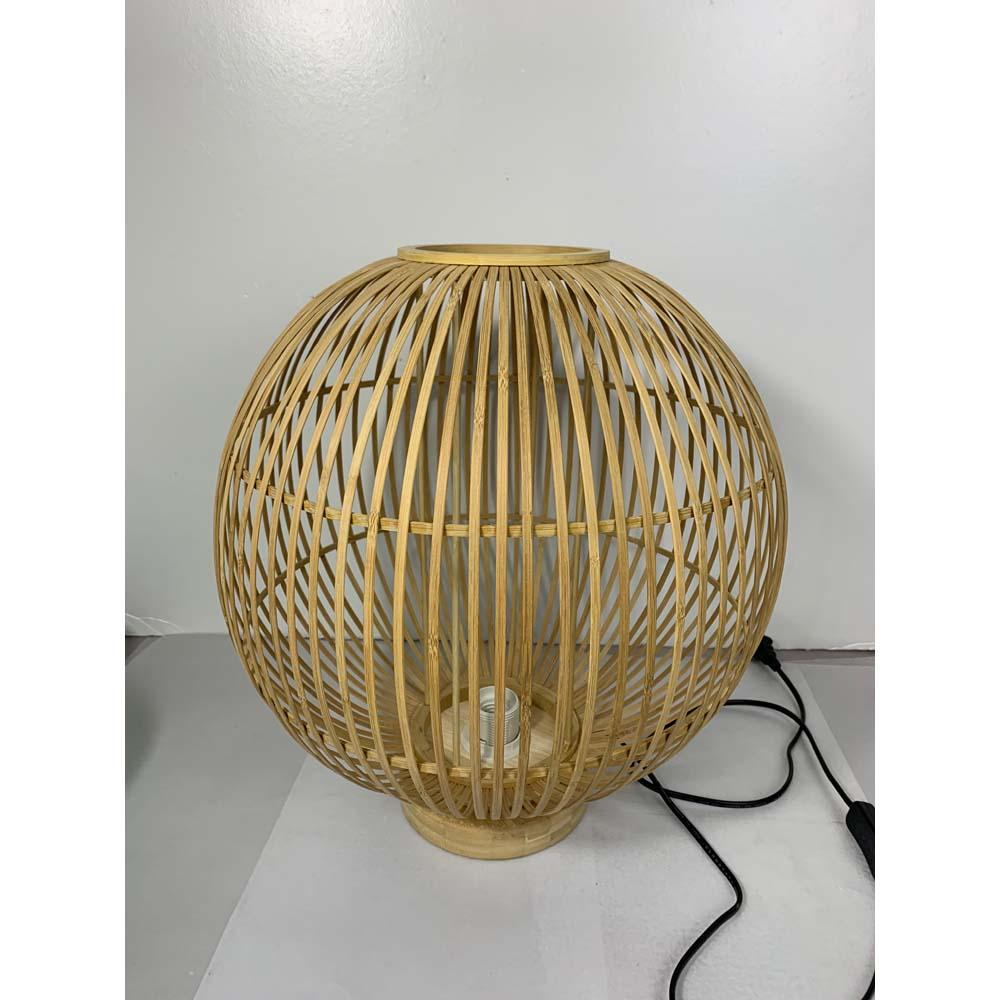 Lampenschirm Tischlampe Bambus