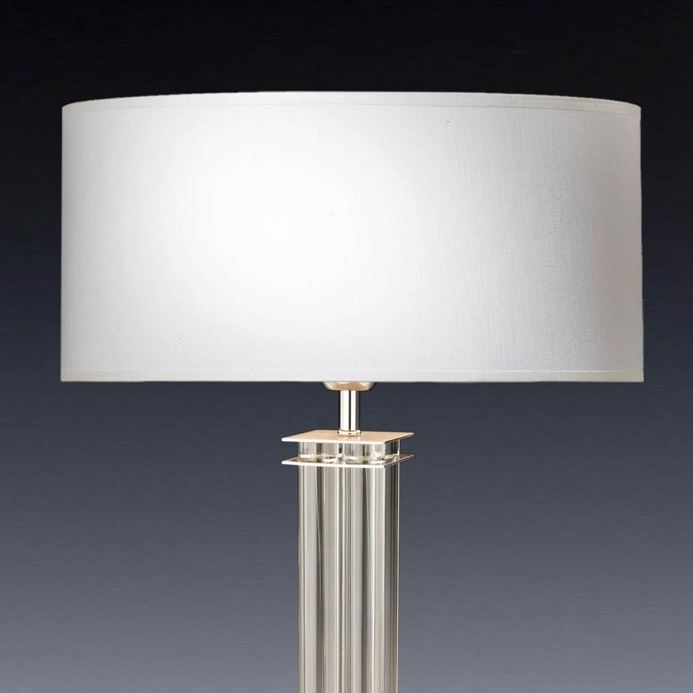 Lampenschirm Weiß Eckig