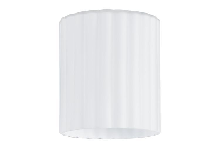 Lampenschirm Weiß Glas