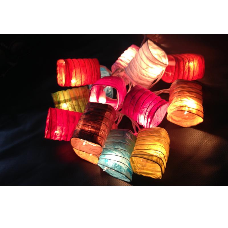 Lampion Lichterkette Mit Stecker