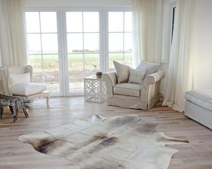 Landhaus Modern Wohnzimmer Einrichtung