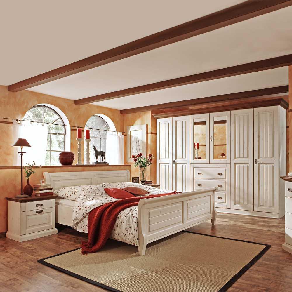 Landhaus Schlafzimmer Massivholz
