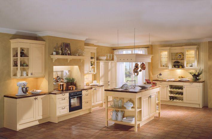 Landhaus Stil Küchen Landhausstil Mediterran